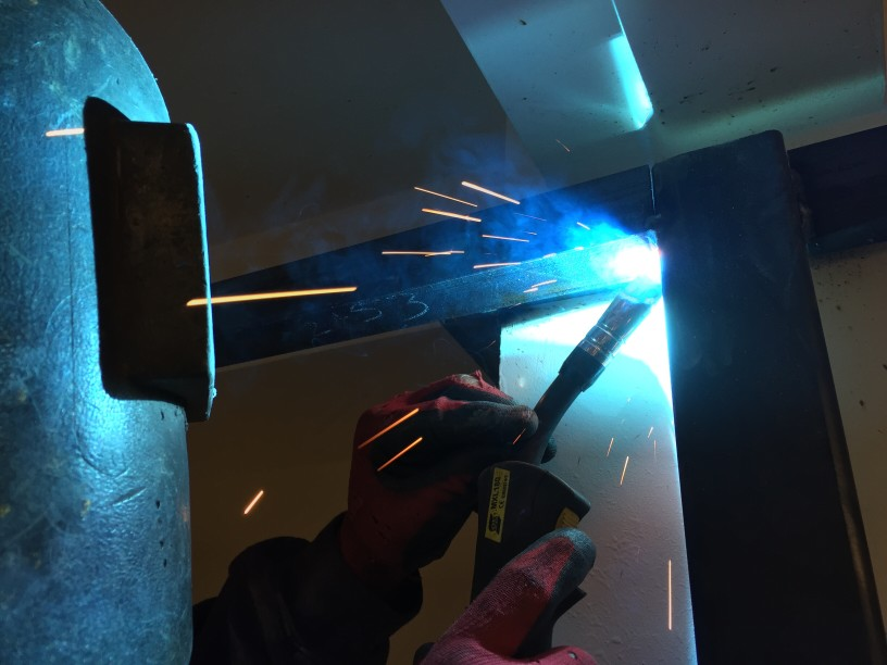 picture of a welder