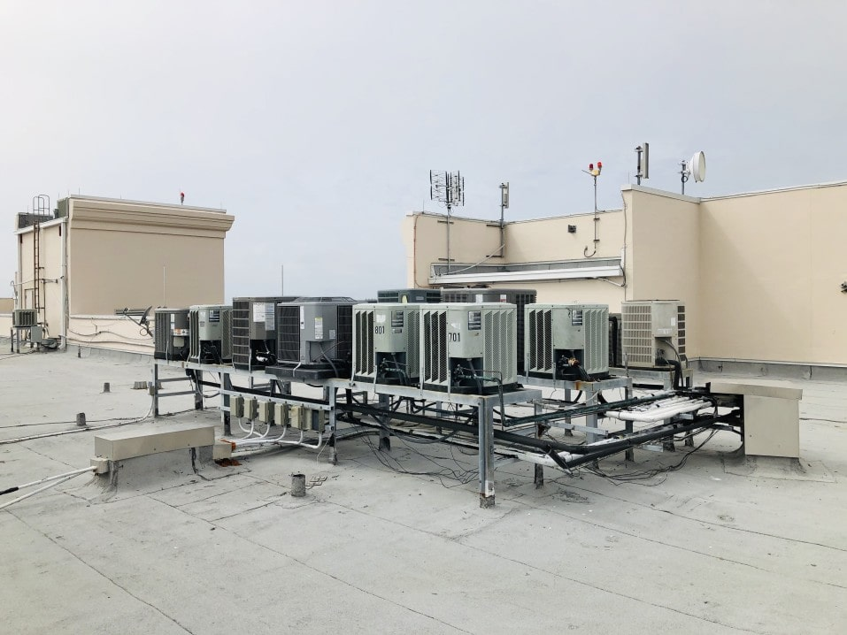 AC units on a building