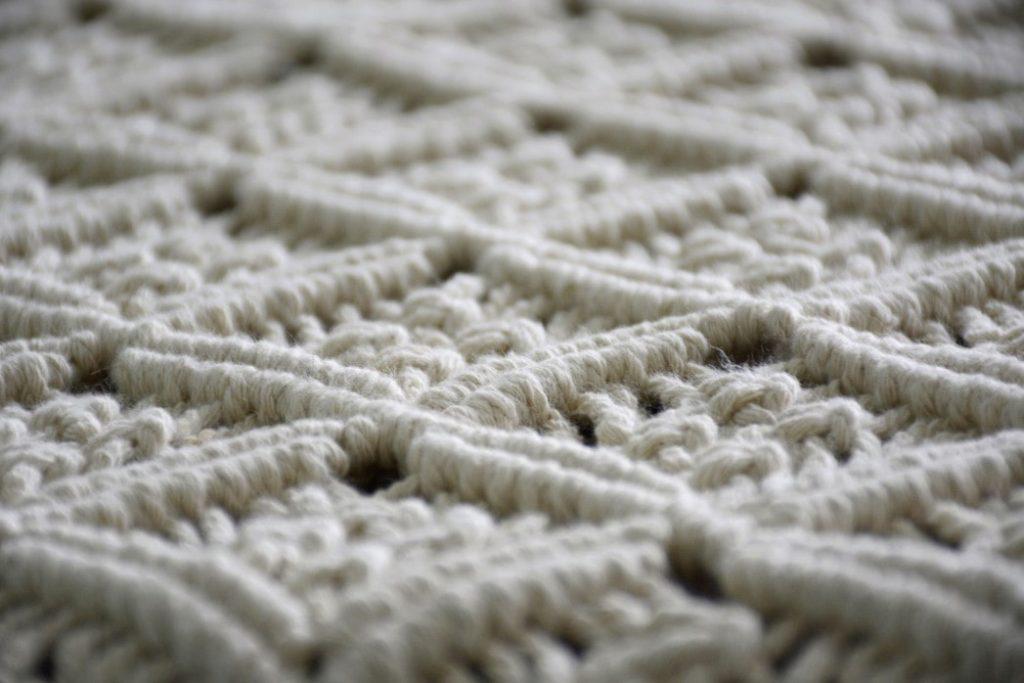 macrame carpet