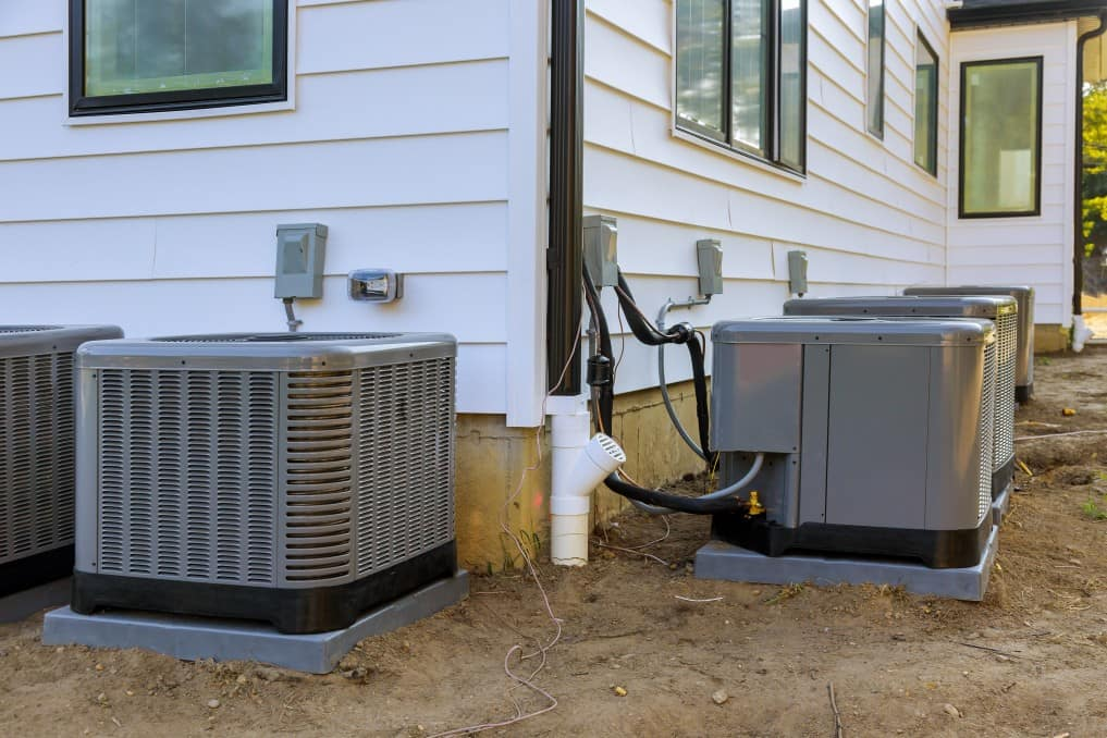 air conditioners outside